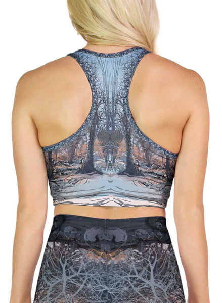 Fate Shadow Sunrise Racerback Crop