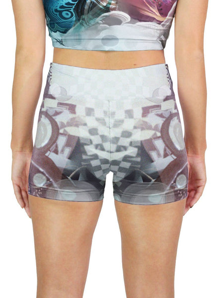 BIRD OF PARADISE ACTIVE SHORTS
