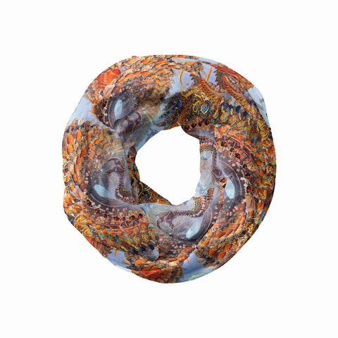 Monarch Dragon Infinity Scarf