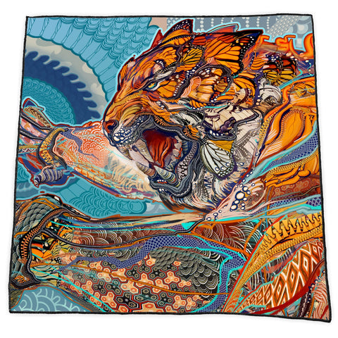TIGER SWALLOWS TAIL BANDANA