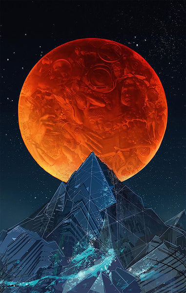 BLOOD MOON • Canvas Edition