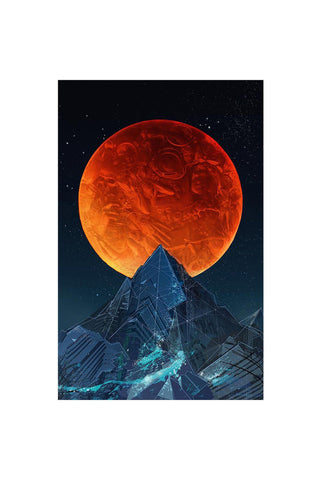 Blood Moon Tarpestry
