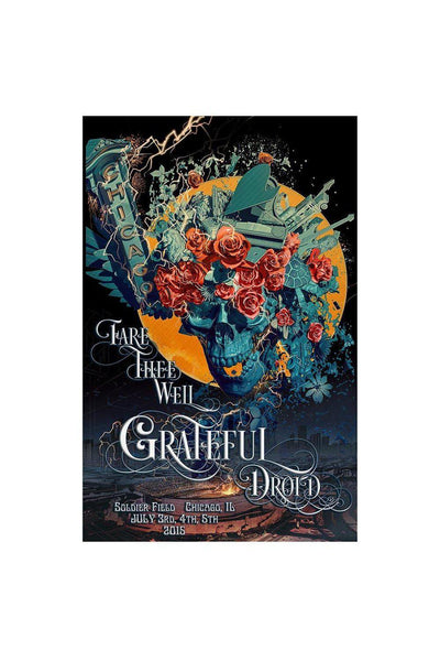 Fare Thee Well Chicago Poster with text