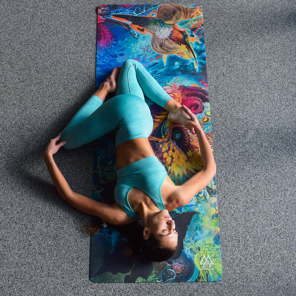 Humming Dragon Yoga Mat