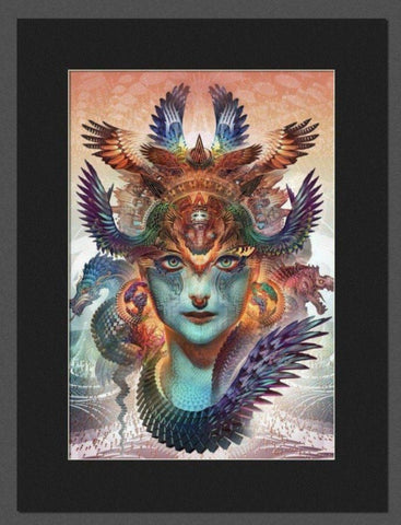 DHARMA DRAGON • Matted Print