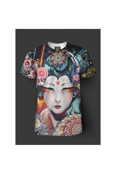 Rainbow Geisha - Full Coverage T-Shirt