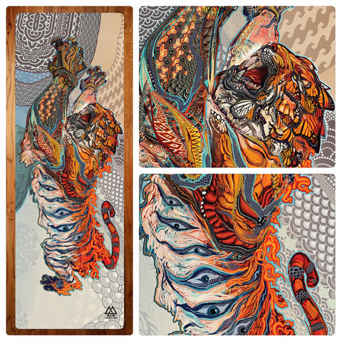 Tiger Swallow Tail Yoga Mat