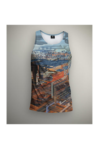 City Scape- Full Coverage Tank