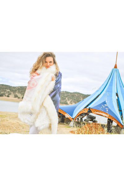 UNION Poncho via BOHO Coats