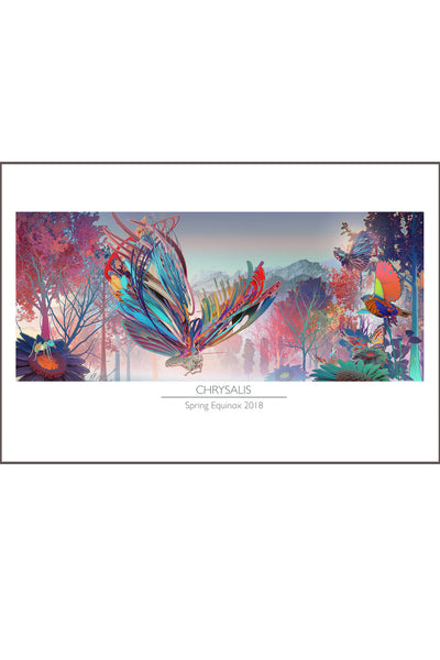 Chrysalis Limited Edition Poster