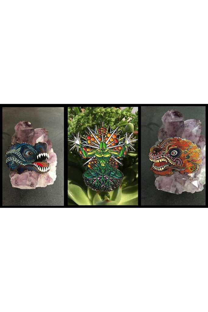 Harmony of Dragons Pin Set