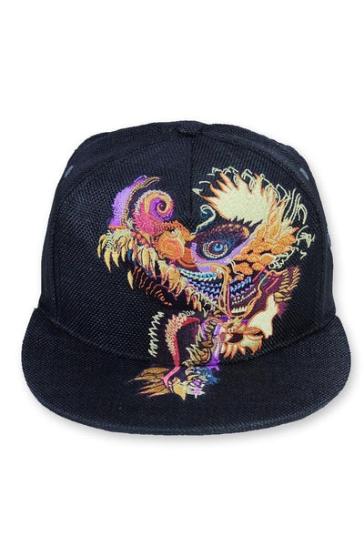 Humming Dragon Embroidered Hat