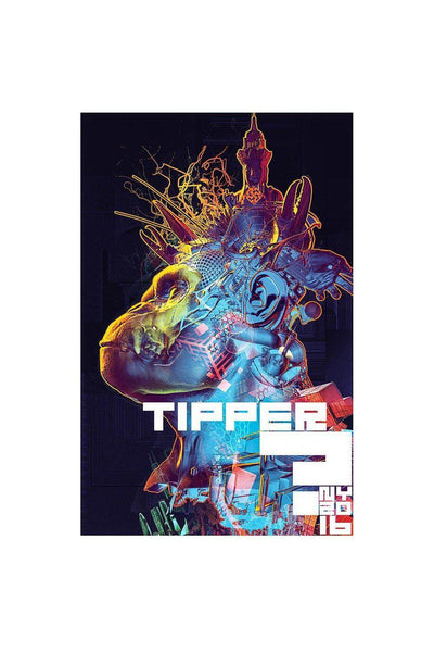 "TIpper NY ""King Claw "" poster"