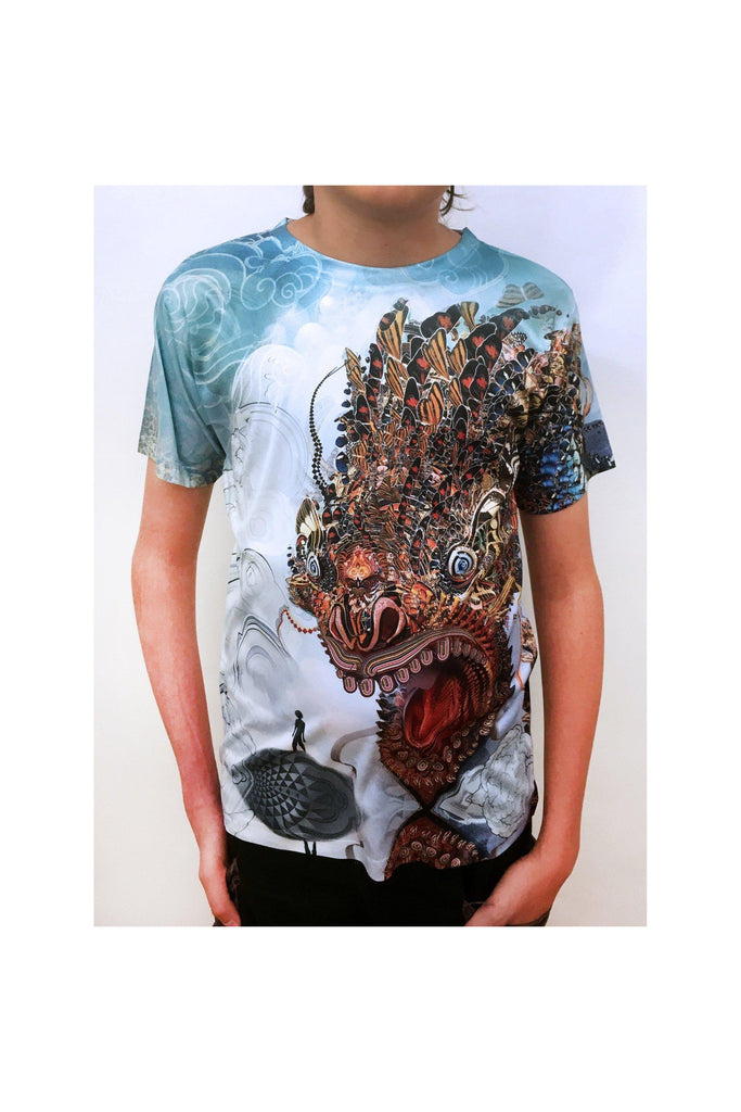 Monarch Dragon Kids - Full Coverage T-Shirt