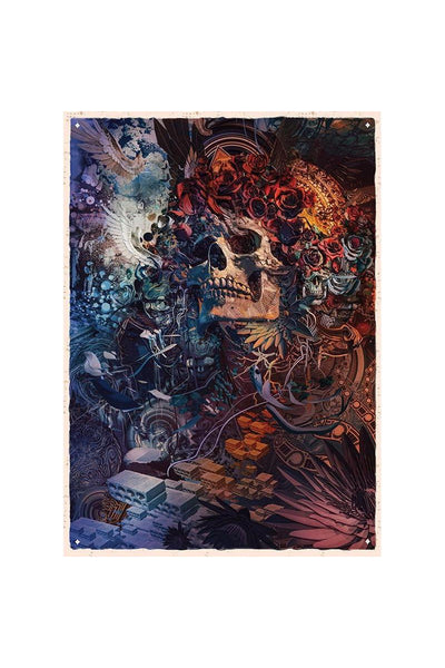 Fare Thee Well Poster Santa Clara art poster