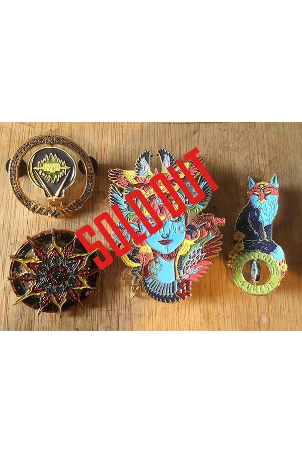 Official Android x Electric Forest Pin Pack