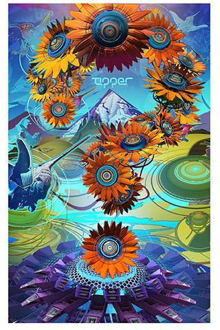 Tipper x Sonic Bloom 2016 Poster