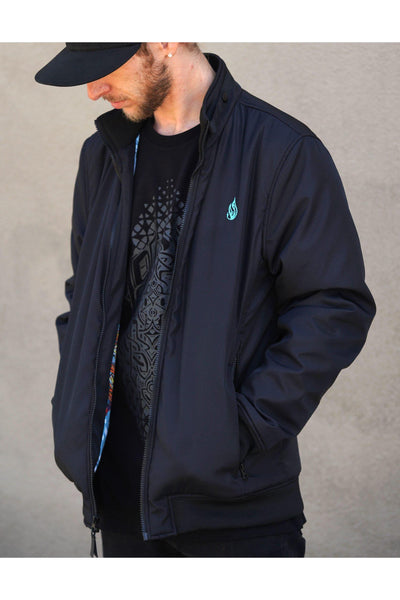 Tiger Swallow Tail Men's Bomber Jacket x Threyda