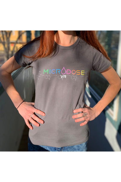 Microdose VR Screen Printed Organic Cotton T-shirts