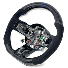 Load image into Gallery viewer, 2015-2017 Ford Mustang Carbon Fiber Steering Wheel
