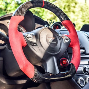Nissan 370Z Carbon Fiber Steering Wheel