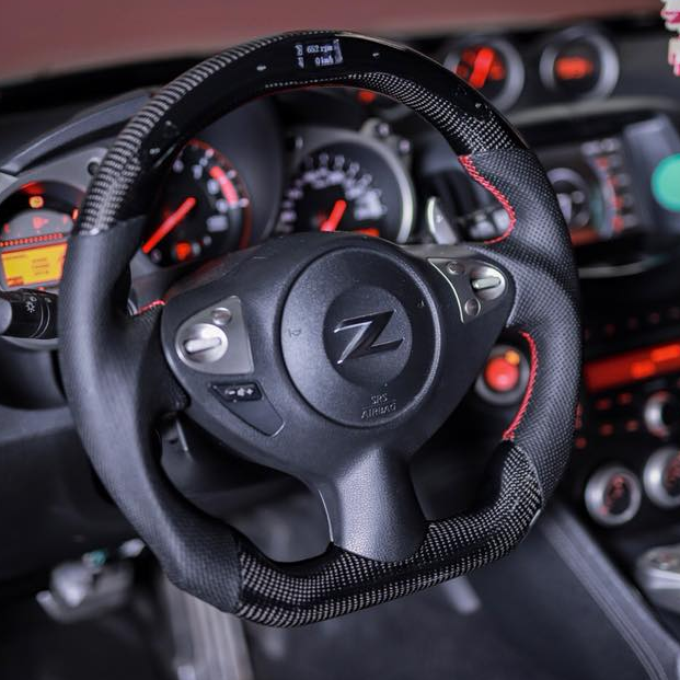 nissan 370z carbon fiber steering wheel carbonsteer nissan 370z carbon fiber steering wheel