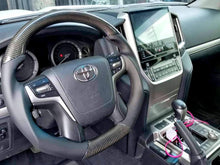 Load image into Gallery viewer, Toyota Land Cruiser Carbon Fiber Steering Wheel