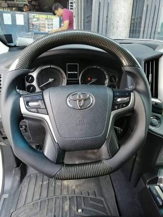 Toyota Land Cruiser Carbon Fiber Steering Wheel