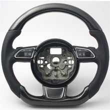 Load image into Gallery viewer, 2013+ Audi A3/S3/RS3 Carbon Fiber Steering Wheel
