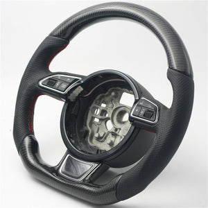 2008-2015 Audi A5/S5/RS5 Carbon Fiber Steering Wheel