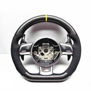 2013+ Audi A3/S3/RS3 Carbon Fiber Steering Wheel