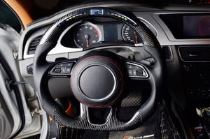 2016+ Audi A4/S4/RS4 Carbon Fiber Steering Wheel