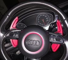 Load image into Gallery viewer, Audi Aluminium Paddle Shift Extensions (Style C)