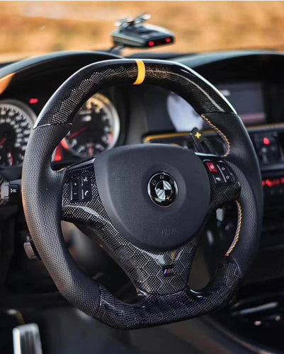 2006-2013 BMW E9X 3 Series Carbon Fiber Steering Wheel