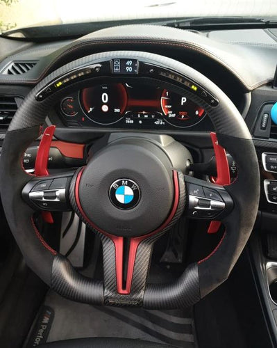 BMW Carbon Fiber M-Sport Steering Wheel Trim