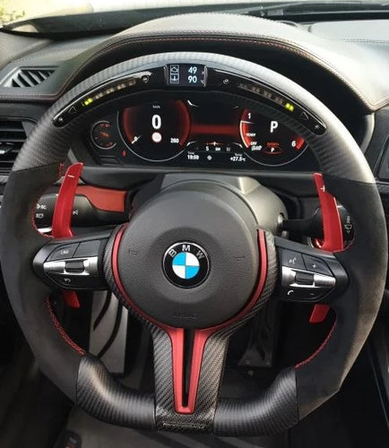 2013-2019 BMW F3X 3/4 Series M-Sport Carbon Fiber Steering Wheel