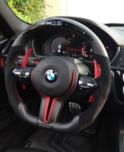 Load image into Gallery viewer, 2010-2017 BMW F10 5 Series M-Sport Carbon Fiber Steering Wheel
