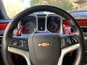 2012-2015 Chevrolet Camaro Aluminium Paddle Shift Extensions