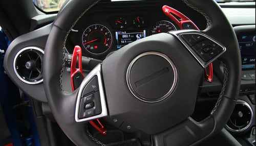 2016-2018 Chevrolet Camaro Aluminium Paddle Shift Extensions