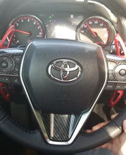 Load image into Gallery viewer, Toyota Camry Carbon Fiber Steering Wheel Trim