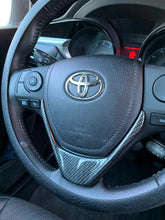 Load image into Gallery viewer, 2014-2018 Toyota Corolla Carbon Fiber Steering Wheel Trim