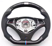 Load image into Gallery viewer, 2006-2013 BMW E9X 3 Series Carbon Fiber Steering Wheel