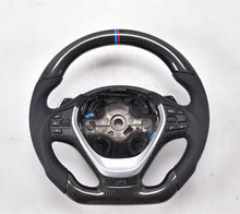 Load image into Gallery viewer, 2010-2017 BMW F10 5 Series Carbon Fiber Steering Wheel
