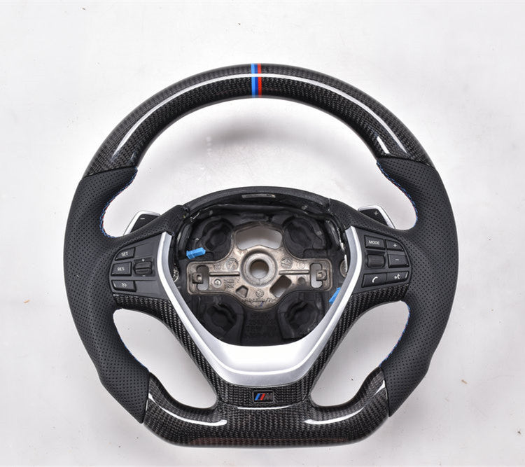 2010-2017 BMW F10 5 Series Carbon Fiber Steering Wheel