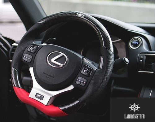 2014-2018 Lexus IS Carbon Fiber Steering Wheel