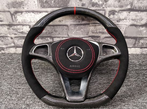2014-2019 Mercedes-Benz GLA Carbon Fiber Steering Wheel