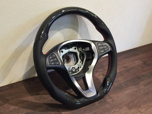 2015-2019 Mercedes-Benz C-Class Carbon Fiber Steering Wheel