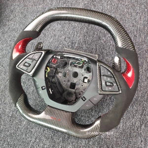2016+ Chevrolet Camaro Carbon Fiber Steering Wheel