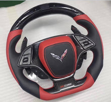 Load image into Gallery viewer, Chevrolet C7 Corvette Carbon Fiber Steering Wheel