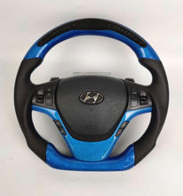 Load image into Gallery viewer, 2013+ Hyundai Genesis Coupe Carbon Fiber Steering Wheel
